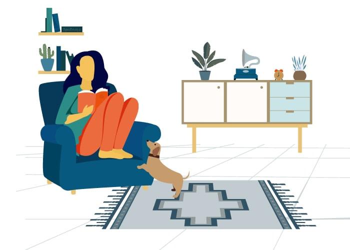 cuci sofa ruang tamu