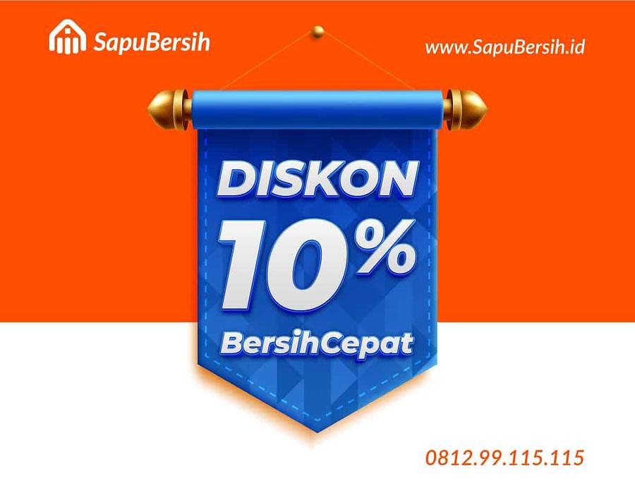 Cleaning Service Diskon 10% BersihCepat SapuBersih Bandung Harga Murah